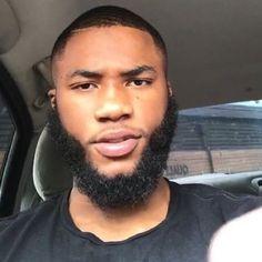 V Shaped Beard