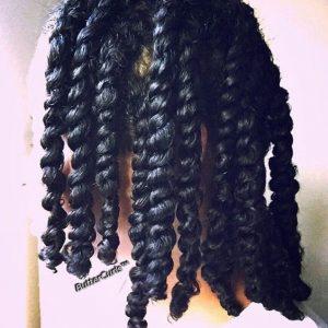 moisturized natural hair