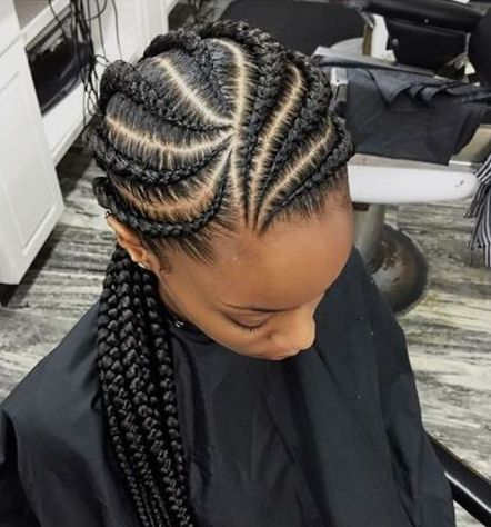 big ghana braid