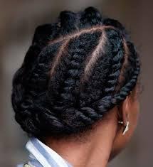 flat twist hair