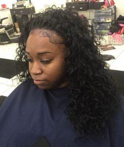 half wig braid edges