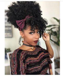half wig headband bow