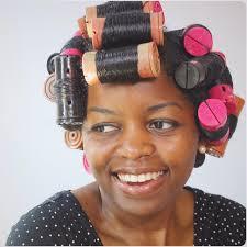 Silk Wrap on relaxed hair v. natural hair